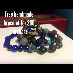 Free handmade bracelet for purchase
